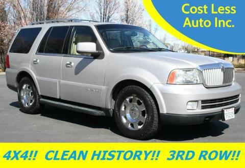 2005 Lincoln Navigator for sale at Cost Less Auto Inc. in Rocklin CA