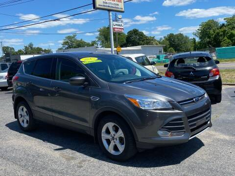 2015 Ford Escape for sale at MetroWest Auto Sales in Worcester MA