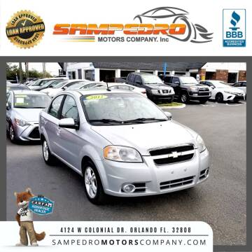 2011 Chevrolet Aveo for sale at SAMPEDRO MOTORS COMPANY INC in Orlando FL