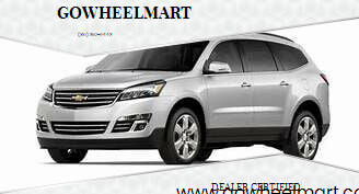 2017 Chevrolet Traverse for sale at GOWHEELMART in Leesville LA