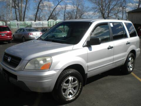2004 Honda Pilot for sale at Lee Motor Sales Inc. in Hartford CT