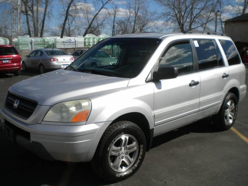 2004 Honda Pilot for sale at Lee Motor Sales Inc. in Hartford CT
