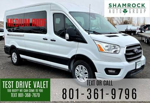 2020 Ford Transit Passenger for sale at Shamrock Group LLC #1 in Pleasant Grove UT