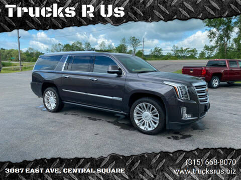 2015 Cadillac Escalade ESV for sale at Trucks R Us in Central Square NY