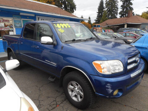 2006 Toyota Tundra for sale at Lino's Autos Inc in Vancouver WA