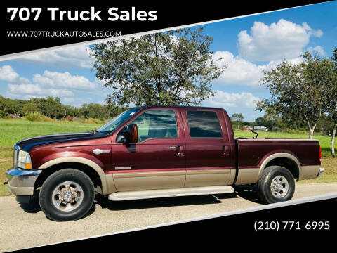 2004 Ford F-250 Super Duty for sale at 707 Truck Sales in San Antonio TX