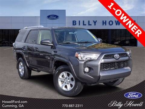 2016 Toyota 4Runner for sale at BILLY HOWELL FORD LINCOLN in Cumming GA
