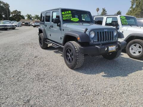 2014 Jeep Wrangler Unlimited for sale at La Playita Auto Sales Tulare in Tulare CA