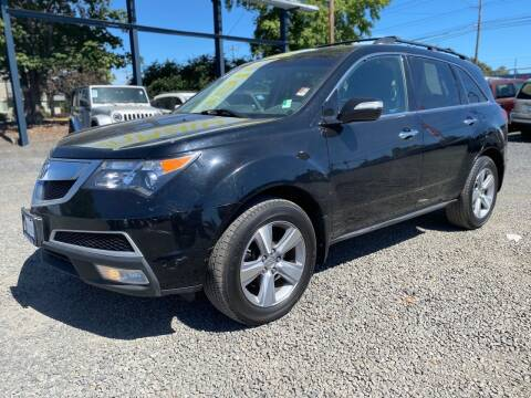 2013 Acura MDX for sale at Universal Auto INC in Salem OR