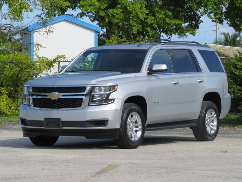 2015 Chevrolet Tahoe for sale at DK Auto Sales in Hollywood FL