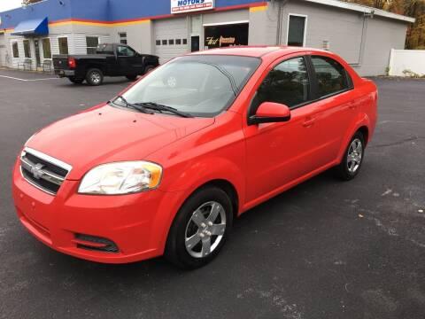 2011 Chevrolet Aveo for sale at Delafield Motors in Glenville NY