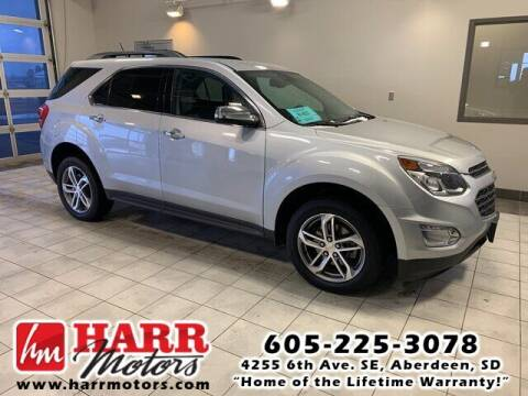 2017 Chevrolet Equinox for sale at Harr Motors Bargain Center in Aberdeen SD