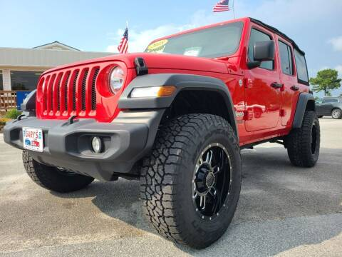 2018 Jeep Wrangler Unlimited for sale at Gary's Auto Sales in Sneads Ferry NC