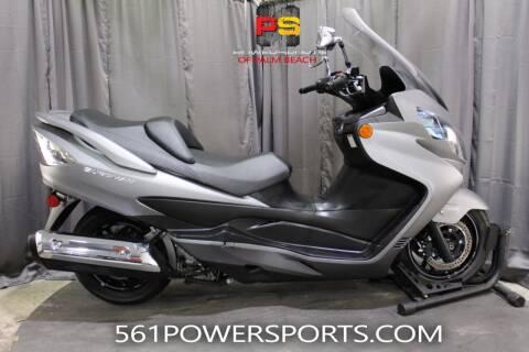 2019 Suzuki Burgman for sale at Powersports of Palm Beach in Hollywood FL
