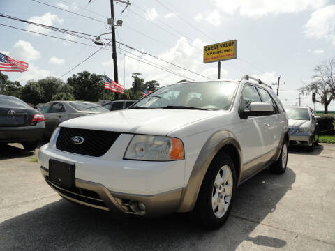 2006 Ford Freestyle for sale at GREAT VALUE MOTORS in Jacksonville FL
