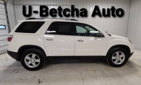 2011 GMC Acadia for sale at Ubetcha Auto in St. Paul NE