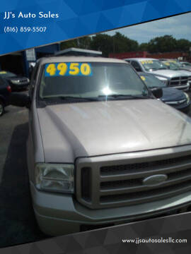 2005 Ford Excursion for sale at JJ's Auto Sales in Independence MO
