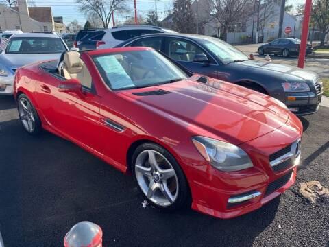 2012 Mercedes-Benz SLK for sale at Park Avenue Auto Lot Inc in Linden NJ