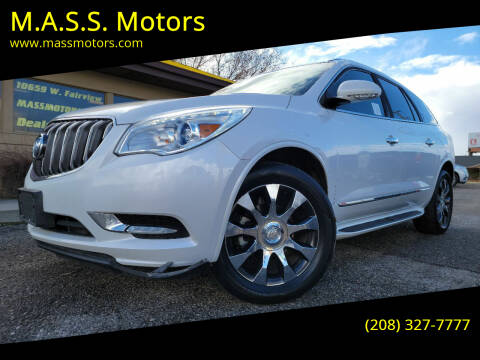 2017 Buick Enclave for sale at M.A.S.S. Motors - MASS MOTORS in Boise ID