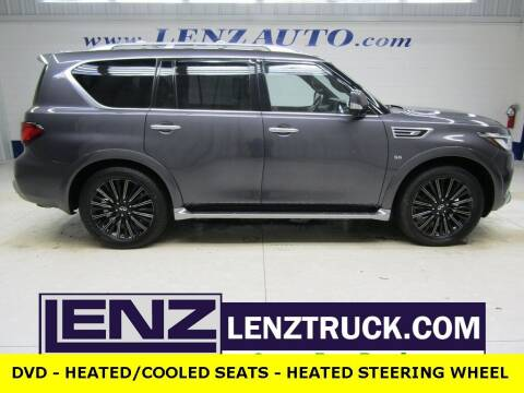 2019 Infiniti QX80 for sale at LENZ TRUCK CENTER in Fond Du Lac WI