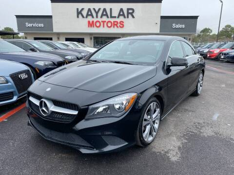2015 Mercedes-Benz CLA for sale at KAYALAR MOTORS in Houston TX