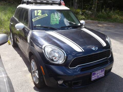 2012 MINI Cooper Countryman for sale at Quest Auto Outlet in Chichester NH
