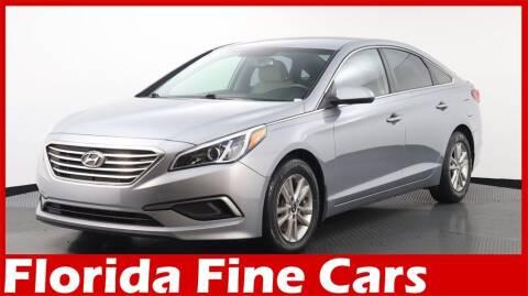 2016 Hyundai Sonata for sale at Florida Fine Cars - West Palm Beach in West Palm Beach FL