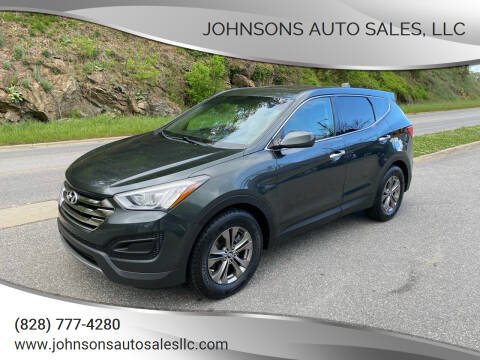 2014 Hyundai Santa Fe Sport for sale at Johnsons Auto Sales, LLC in Marshall NC