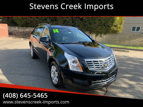2014 Cadillac SRX for sale at Stevens Creek Imports in San Jose CA