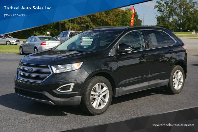 2015 Ford Edge for sale at Tarheel Auto Sales Inc. in Rocky Mount NC