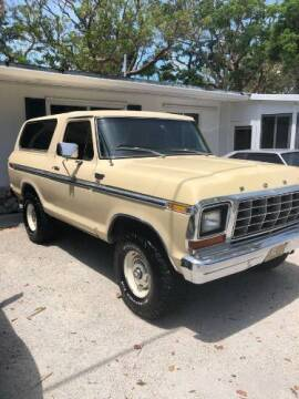 1979 Ford Bronco for sale at Classic Car Deals in Cadillac MI