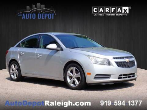 2012 Chevrolet Cruze for sale at The Auto Depot in Raleigh NC