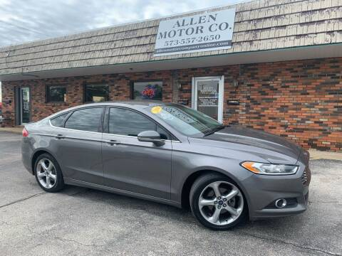 2014 Ford Fusion for sale at Allen Motor Company in Eldon MO