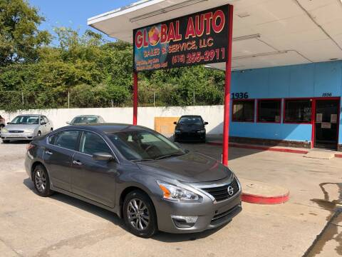 2015 Nissan Altima for sale at Global Auto Sales and Service in Nashville TN