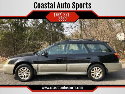 2000 Subaru Outback for sale at Coastal Auto Sports in Chesapeake VA