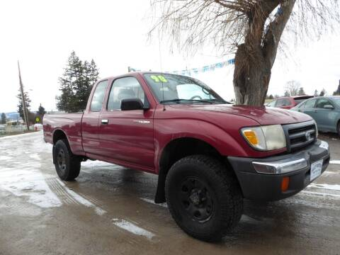 1998 Toyota Tacoma for sale at VALLEY MOTORS in Kalispell MT