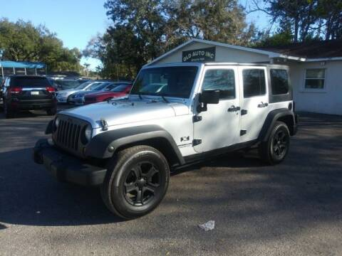 2007 Jeep Wrangler Unlimited for sale at QLD AUTO INC in Tampa FL
