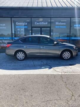 2018 Nissan Sentra for sale at Georgia Certified Motors in Stockbridge GA