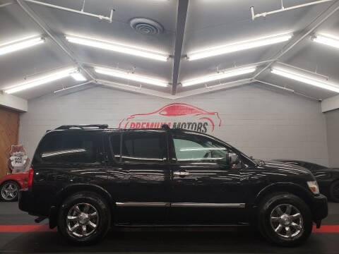 2007 Infiniti QX56 for sale at Premium Motors in Villa Park IL