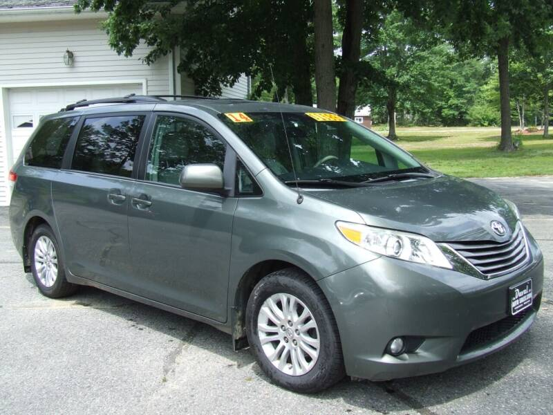 2014 Toyota Sienna for sale at DUVAL AUTO SALES in Turner ME