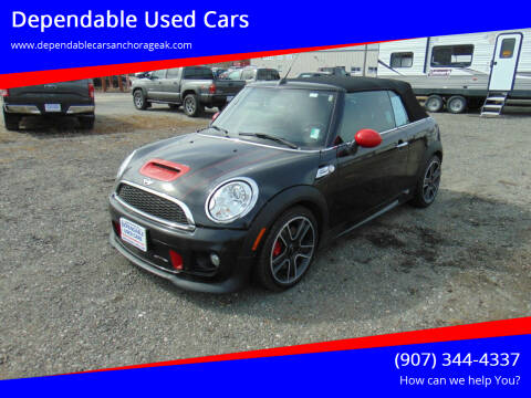 2013 MINI Convertible for sale at Dependable Used Cars in Anchorage AK