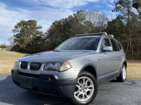2005 BMW X3 for sale at Global Pre-Owned in Fayetteville GA
