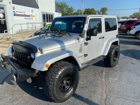 2012 Jeep Wrangler for sale at Huggins Auto Sales in Ottawa OH