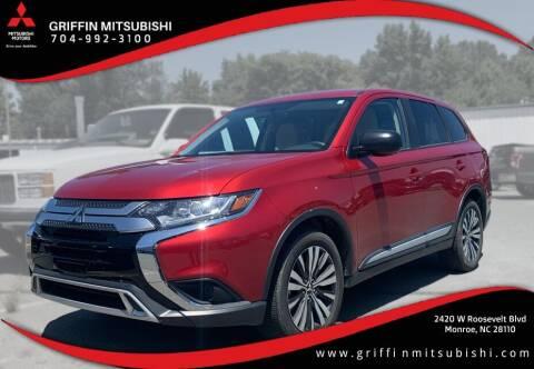 2019 Mitsubishi Outlander for sale at Griffin Mitsubishi in Monroe NC