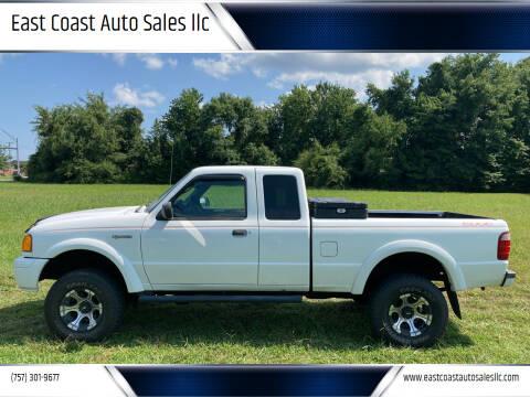 2004 Ford Ranger for sale at East Coast Auto Sales llc in Virginia Beach VA