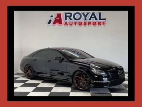 2012 Mercedes-Benz CLS for sale at Royal AutoSport in Sacramento CA