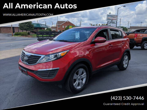 2013 Kia Sportage for sale at All American Autos in Kingsport TN