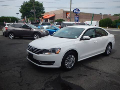2015 Volkswagen Passat for sale at 103 Auto Sales in Bloomfield NJ