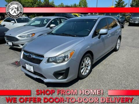 2014 Subaru Impreza for sale at Auto 206, Inc. in Kent WA