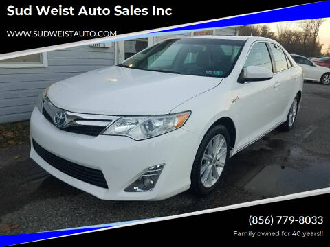 2014 Toyota Camry Hybrid for sale at Sud Weist Auto Sales Inc in Maple Shade NJ